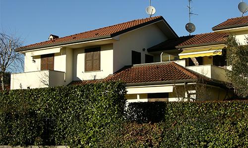 2001. Realizzazione ex-novo di abitazione plurifamiliare in Camparada MB