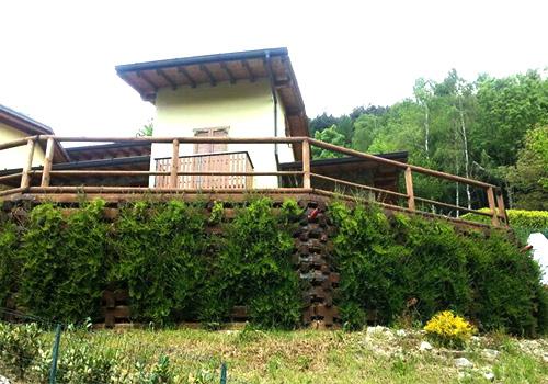 2009. Riqualificazione giardino in Castione della Presolana BG