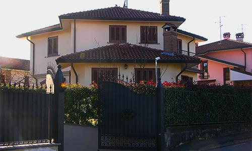 2009. Realizzazione ex-novo di abitazione unifamiliare in Camparada MB