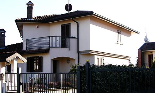 2008. Realizzazione ex-novo di abitazione plurifamiliare in Camparada MB